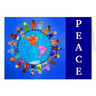 Peaceful Children Card