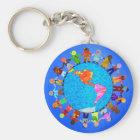 Peaceful Children Key Ring