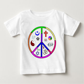 Peaceful Coexistence Baby T-Shirt