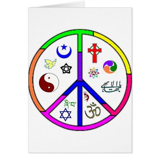 Peaceful Coexistence Card