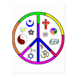 Peaceful Coexistence Post Card