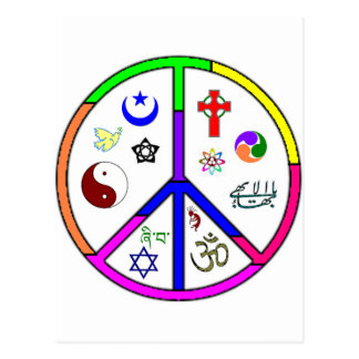 Peaceful Coexistence Postcard