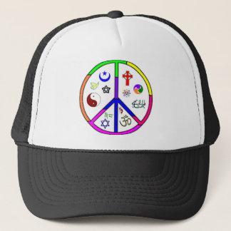 Peaceful Coexistence Trucker Hat