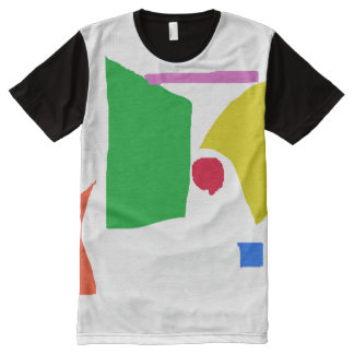 Peaceful Continents All-Over Print T-Shirt