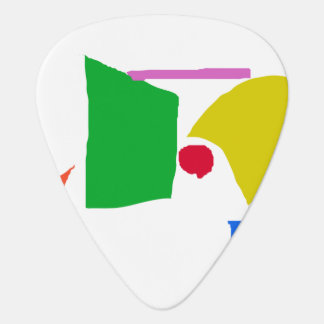 Peaceful Continents Plectrum