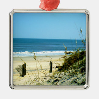 Peaceful Day At The Beach Christmas Ornament