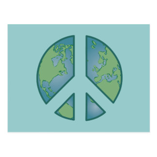 Peaceful Earth Postcard