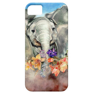 Peaceful Elephant iPhone 5 Cases