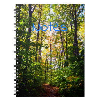 Peaceful Forest Spiral Notebook