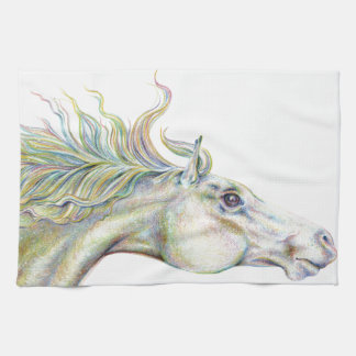 Peaceful Horse Tea Towel