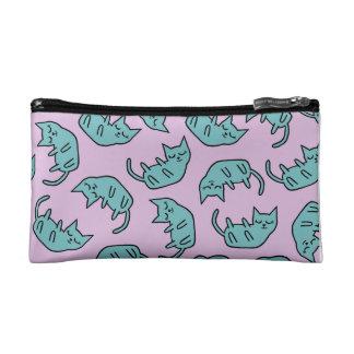 Peaceful Kitty Pattern Cosmetics Bags