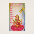 Peaceful Lotus and Dragonfly Business Card