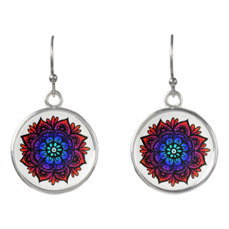 Peaceful Mandala Earrings