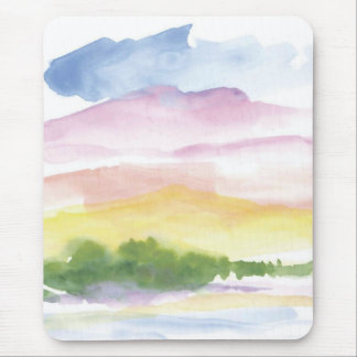 Peaceful memories mouse pads