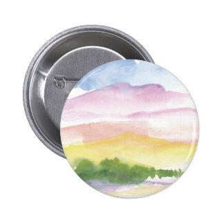 Peaceful memories pinback buttons