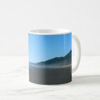 Peaceful Misty Washington State Beach Scenic Mug