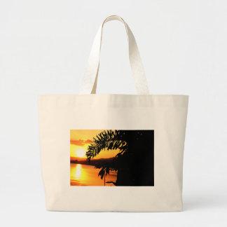 Peaceful Morning Sun Canvas Bags