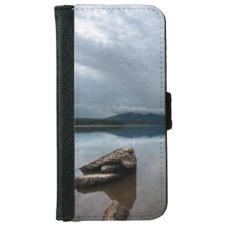 Peaceful Mountain Lake View iPhone 6 Wallet Case