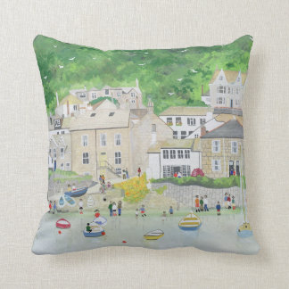 Peaceful Mousehole 1995 Cushion