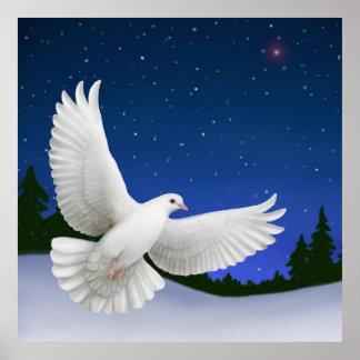 Peaceful Night Dove Print