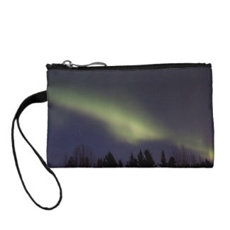 Peaceful Northern Lights Change Purse