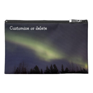 Peaceful Northern Lights; Customizable Travel Accessories Bags