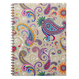 Peaceful Paisley Notebooks