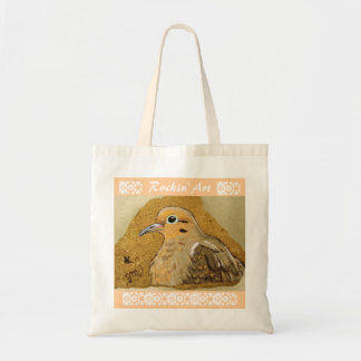 Peaceful Passerine Budget Tote Bag