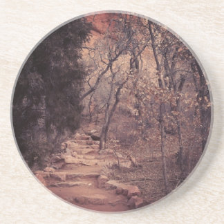 Peaceful Path Coasters