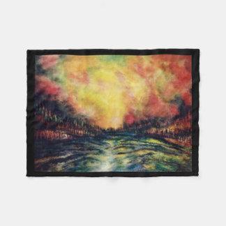 Peaceful Path Fleece Blanket