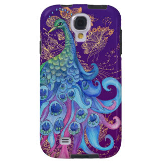 Peaceful Peacock Galaxy S4 Case