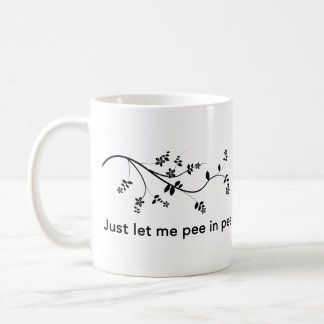 Peaceful Potty Break Coffee Mug