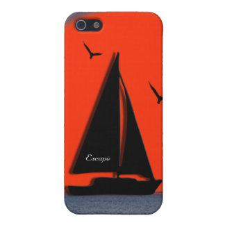 Peaceful Sail Boat Name the Boat  iPhone 5/5S Case