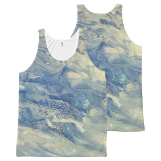 Peaceful Sea All-Over Print Tank Top