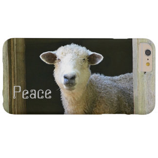 Peaceful Sheep Barely There iPhone 6 Plus Case