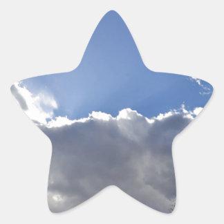 Peaceful Sky Sticker