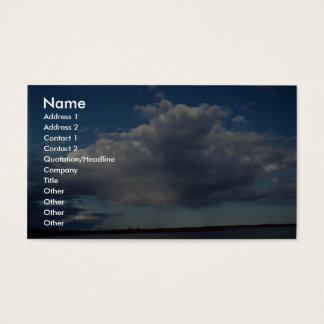 Peaceful Statocumulus (falling rain) Business Card