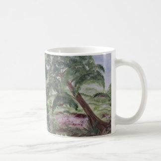 Peaceful Stream Basic White Mug