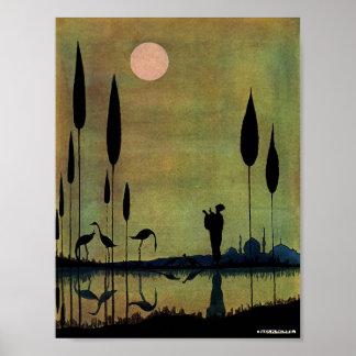 Peaceful Sunrise Poster