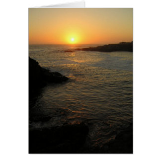 Peaceful Sunset Card