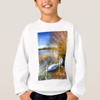 Peaceful Swans Sweatshirt