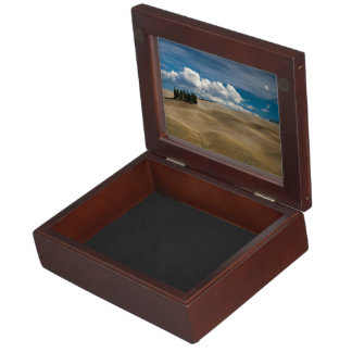 Peaceful Themed, Beautiful Toscana Desert View Wit Keepsake Box
