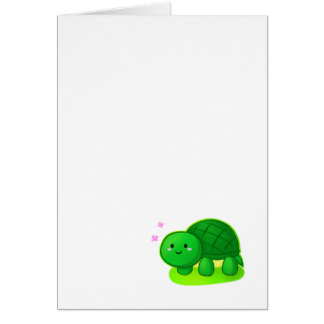 Peaceful Turtle Card