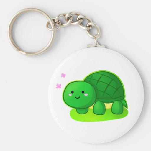 Peaceful Turtle Key Chain