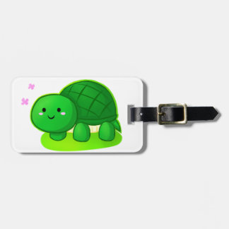 Peaceful Turtle Luggage Tag