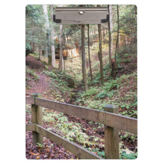 Peaceful Walking Trail Nature Path Clipboard