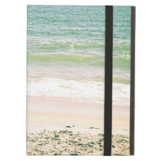 Peaceful Waves Pastel Beach Photography iPad Air Cover