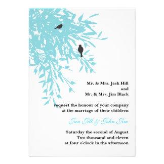 Peaceful Wedding Invite