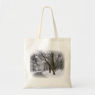 Peaceful Winter Afternoon Drive Bags