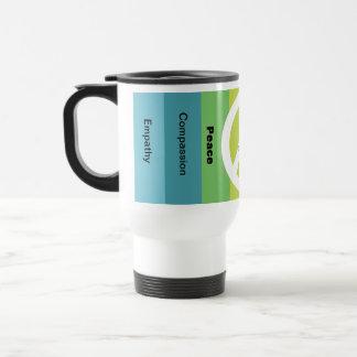 Peaceful Words Travel Mug
